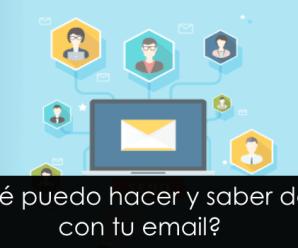 ¿QUÉ PUEDO HACER Y SABER DE TI CON TU EMAIL?: suplantando un correo electrónico [PARTE III]