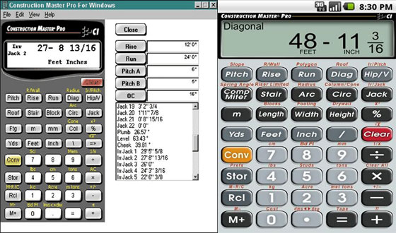 Construction Calculator Construction Cost
