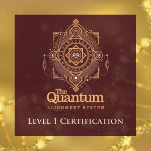 Quantum Alignment System Level 1 Certification