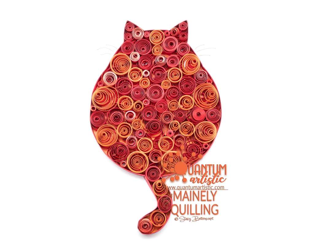 Bubble Coil Quilled Fat Cat