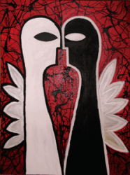 Malignant Hatred original art by Esti Mayer