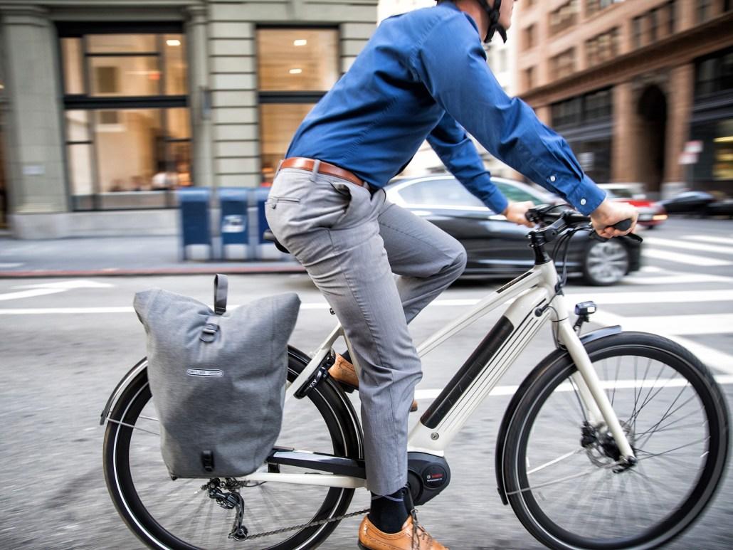 Gazelle CityZen vélo électrique femme d'aujourd'hui