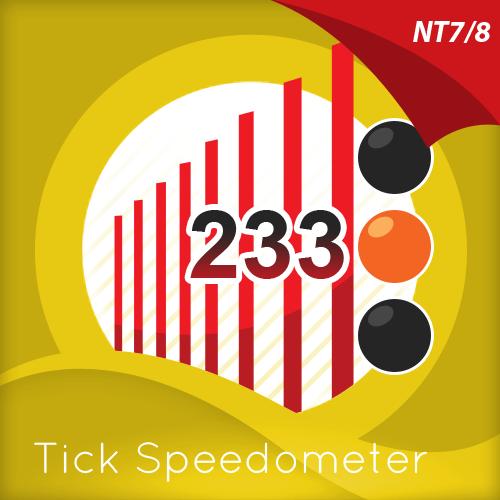 Tick Speedometer Indicator for NinjaTrader