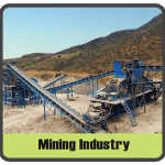 Mining industry sector image