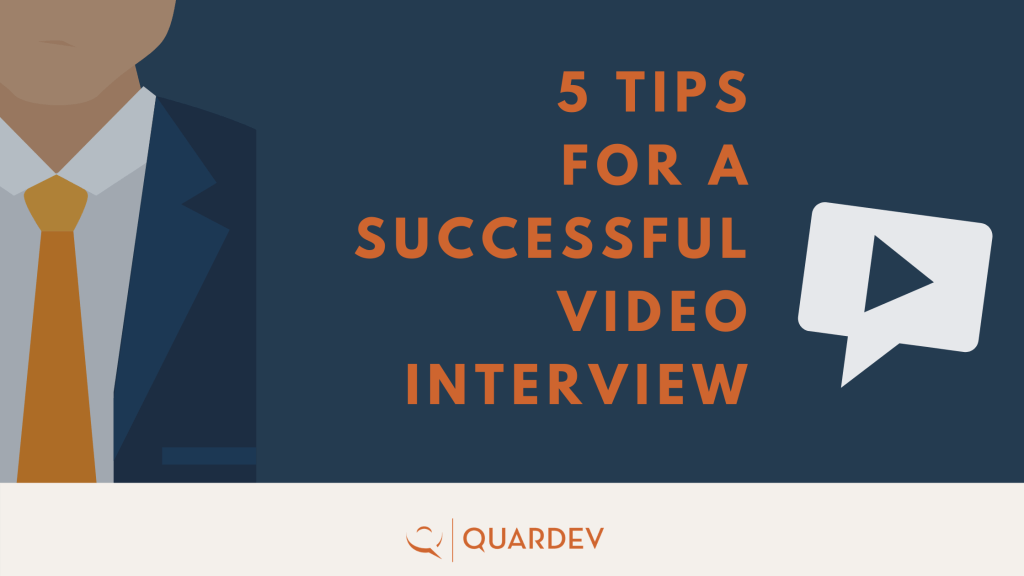 Top Tips for a successful video interview