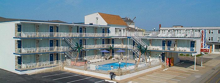 The Quarterdeck Motel Wildwood New Jersey