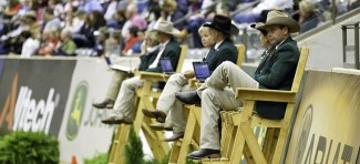 Judges for this historic competition had the best seat in the house during the Team Championship and Individual Qualifying Competition.