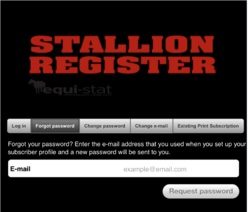 Stallion Register App Guide 2