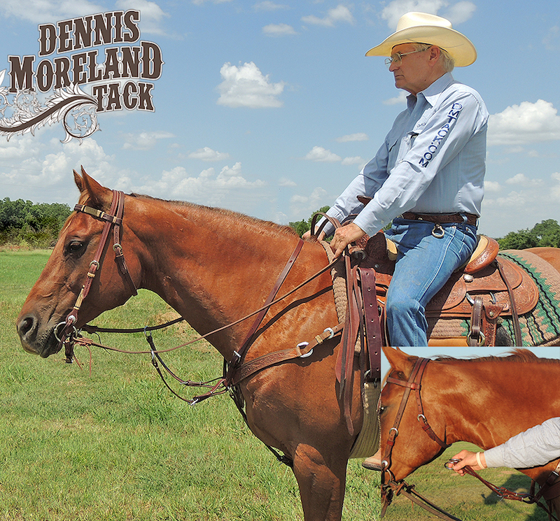Dennis Moreland with Running Martingale