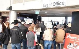 SDP Buffalo Ranch owner Shane Plummer addresses crowd