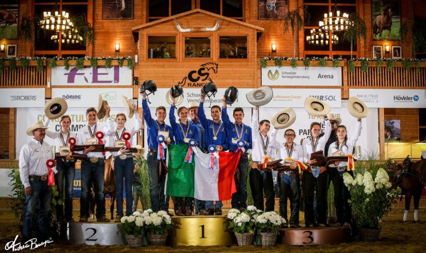 SVAG FEI World Reining Championship Winners from 2017