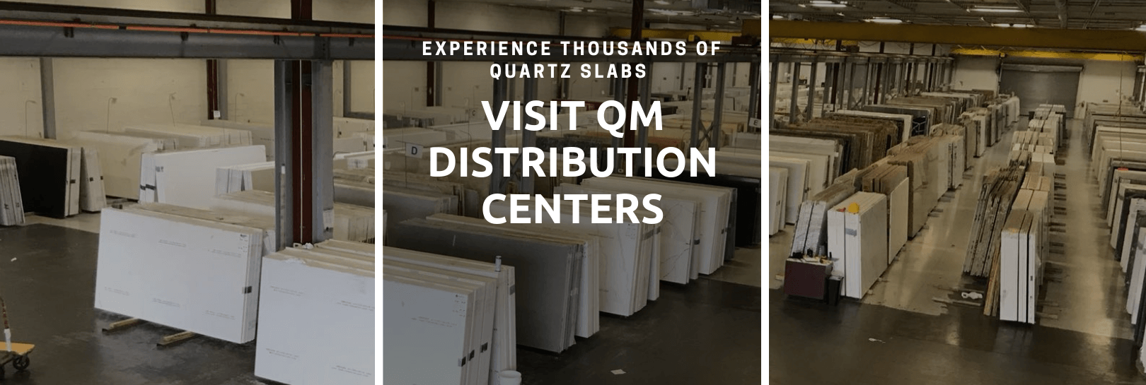 Distribution Centers banner