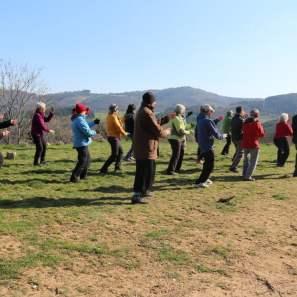 Stage de 127 postures en Ardèche, au Hameau des sources, à Préaux