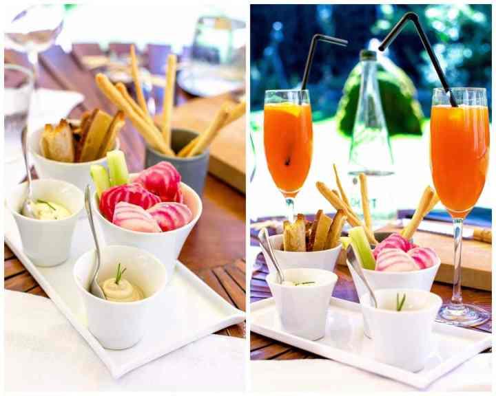Cocktail Maison et quelques préparations salées