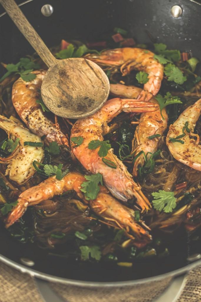 Soupe Miso aux crevettes - Magali Ancenay