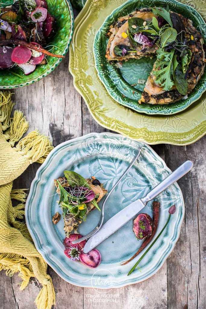 Feuilleté de blettes - Magali ANCENAY Photographe Culinaire