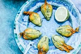 Fleurs de courgette Ricotta - Magali ANCENAY photographe culinaire