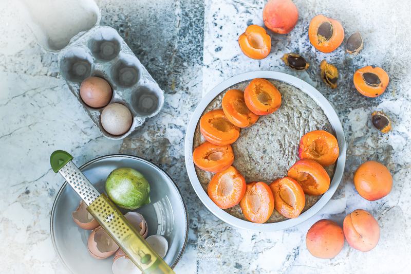 gâteau abricots - Magali ANCENAY Photographe Culinaire