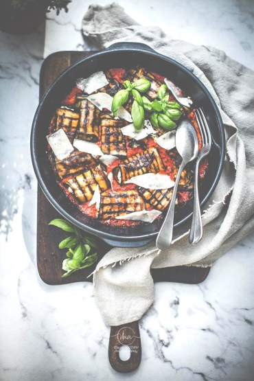 Aubergines roulées ricotta - Magali ANCENAY Photographe Culinaire