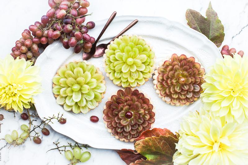 Tarte Raisins - Magali ANCENAY Photographe Culinaire