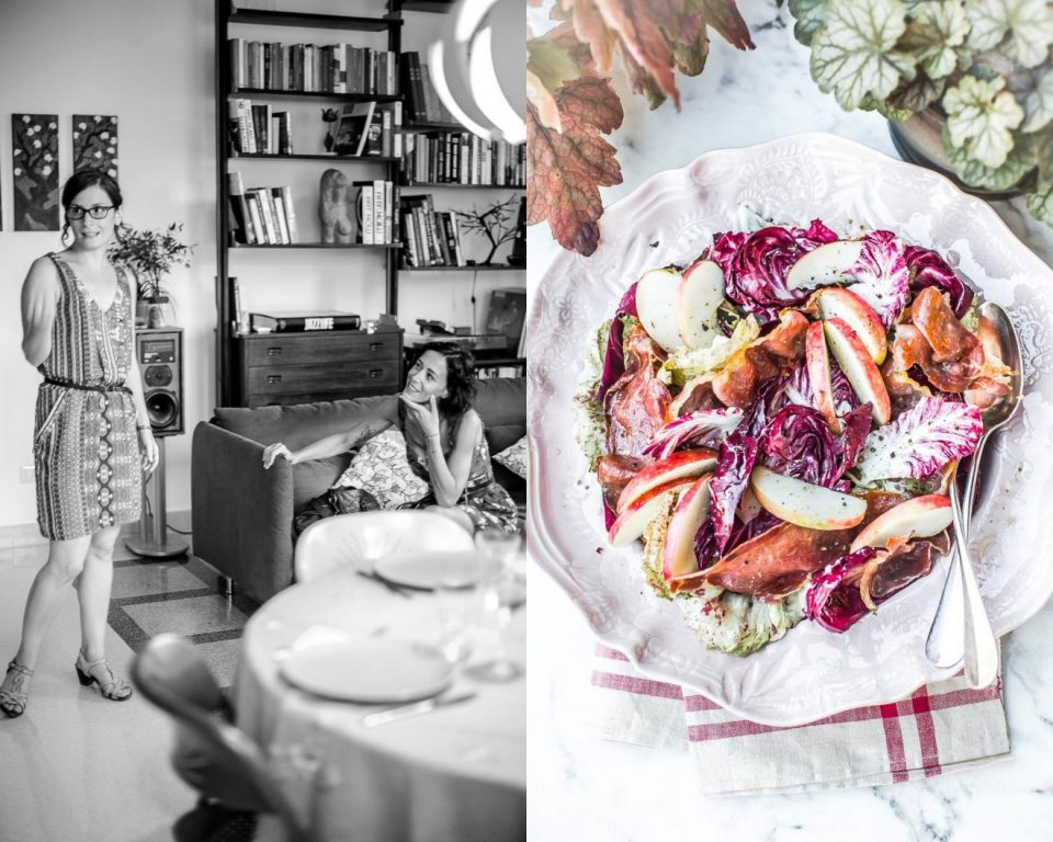 Salade de chicorée - Magali ANCENAY Photographe Culinaire