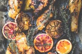 Poulet en marinade à l'oranges - Magali ANCENAY PHOTOGRAPHE CULINAIRE