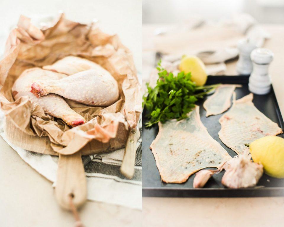 Soupe poulet et Choux Kale - Magali ANCENAY Photographe Culinaire