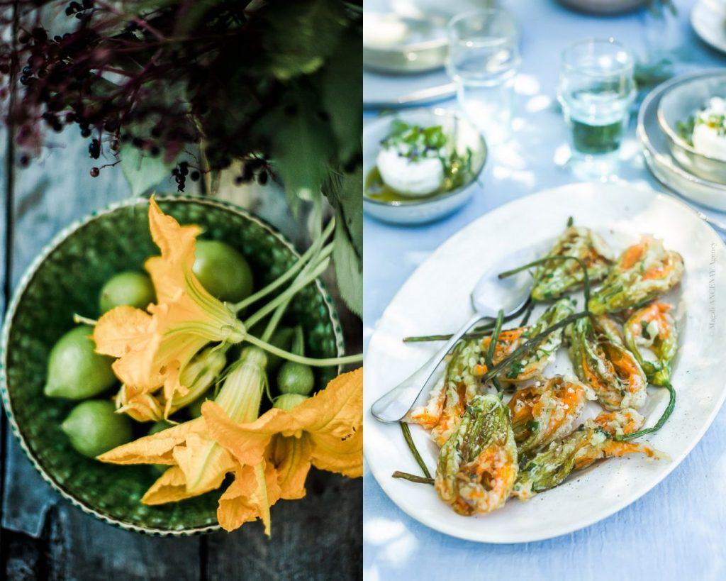 Beignets fleurs de courgette TEMPURA - Magali ANCENAY Photographe Culinaire