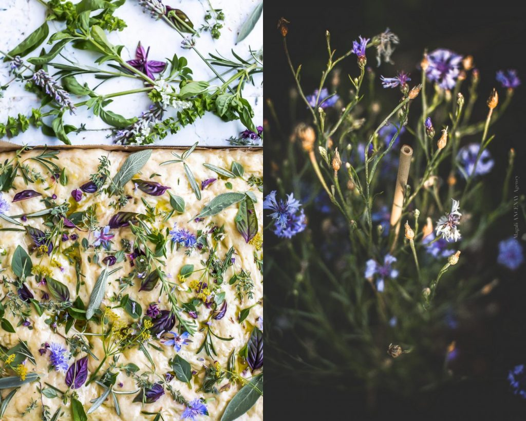 Focaccia aux fines herbes - Magali ANCENAY AGENCY