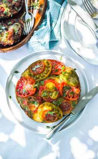 Légumes au four, façon tian