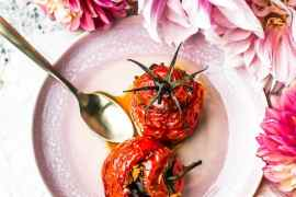 Tomate confite aux 12 saveurs Alain Passard - Magali ANCENAY AGENCY