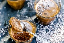 Mousse chocolat caramel beurre salé - Magali ANCENAY
