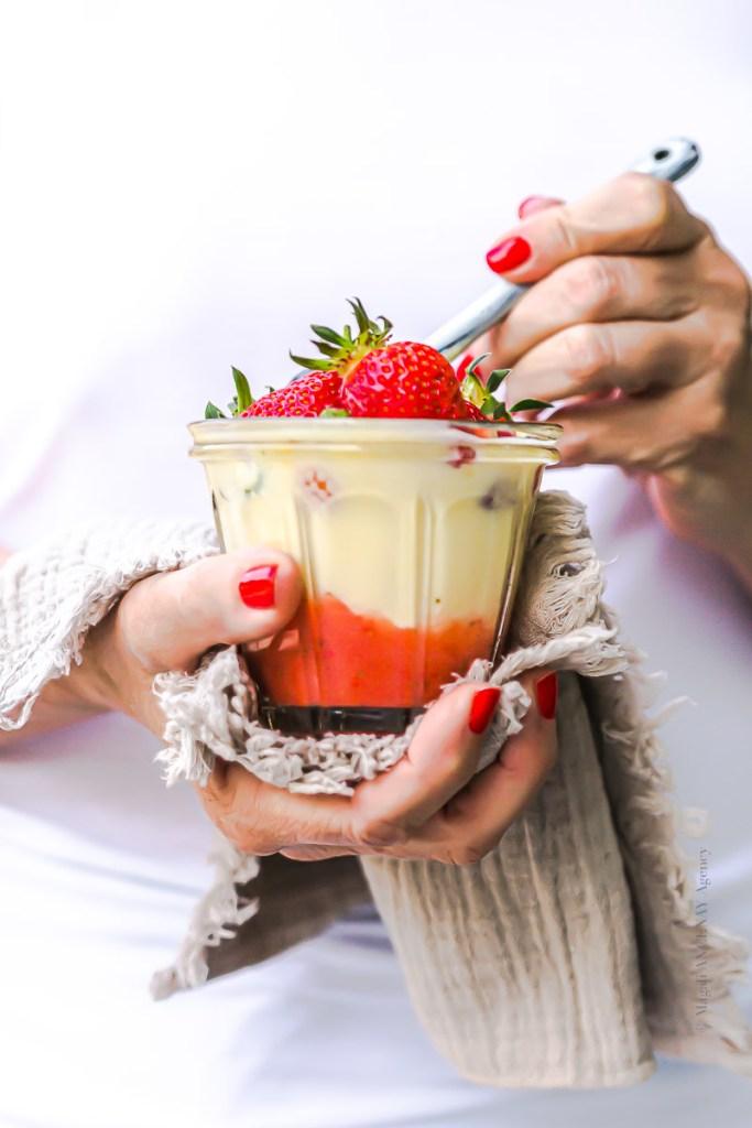 Salade de fraise Cyril Lignac - Magali ANCENAY