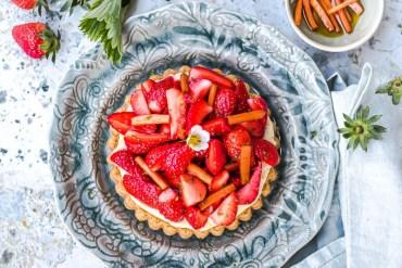 Tarte aux fraises de Nicolas Paciello - Magali ANCENAY