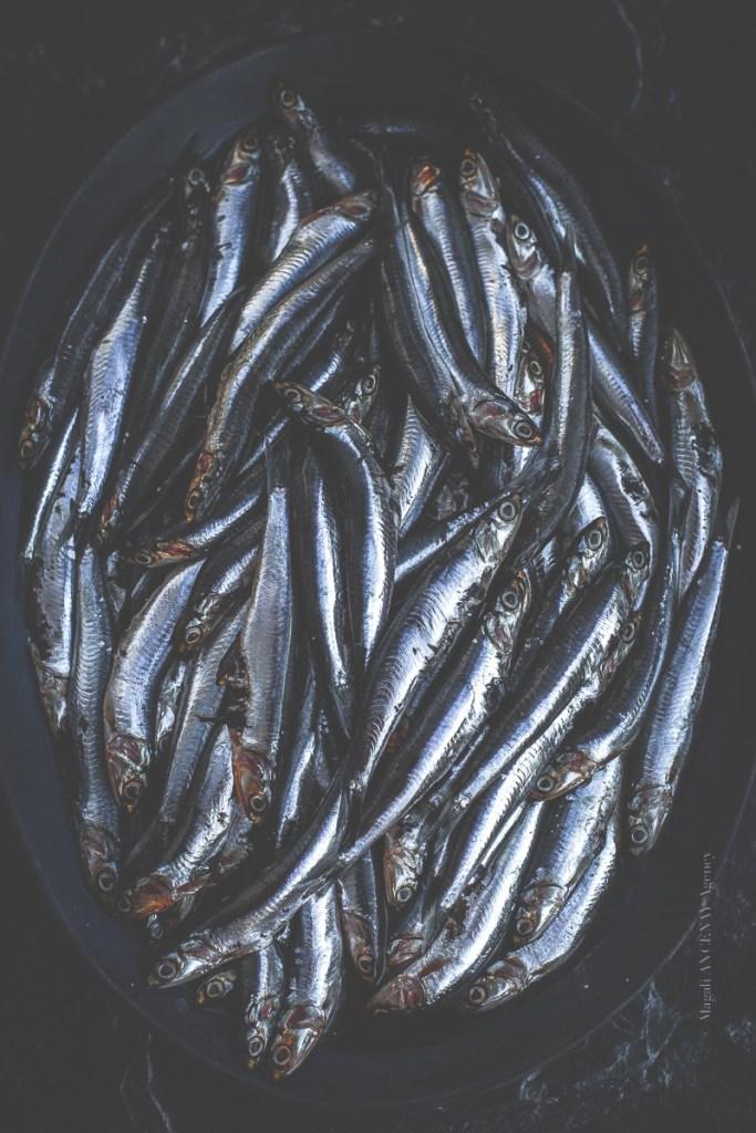 Préparation des anchois au sel - Magali ANCENAY
