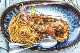 Pâtes aux langoustes - Magali ANCENAY