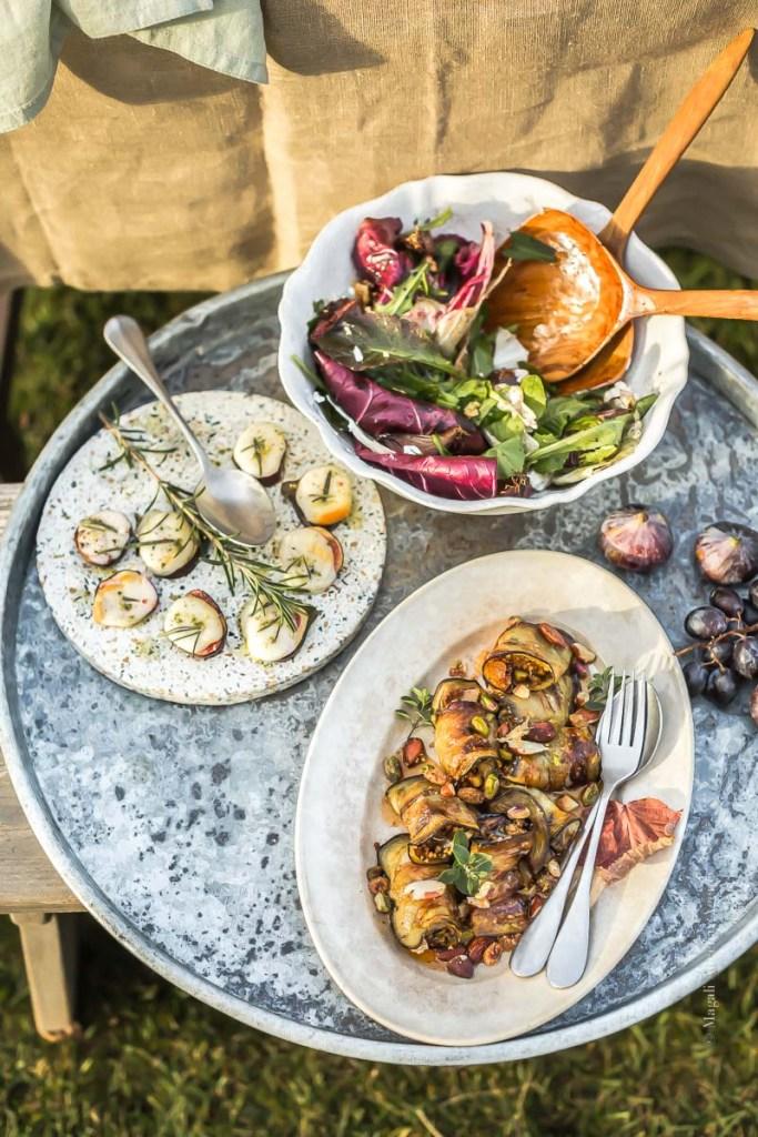 Repas à partager - Magali Ancenay