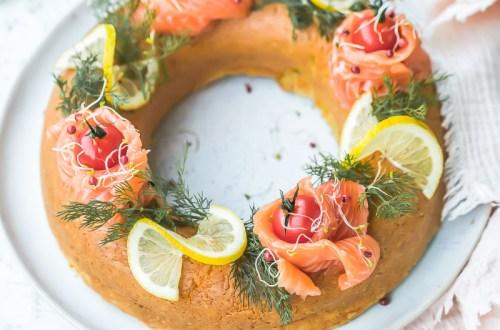 Couronne cake au saumon Salma - Magali ANCENAY