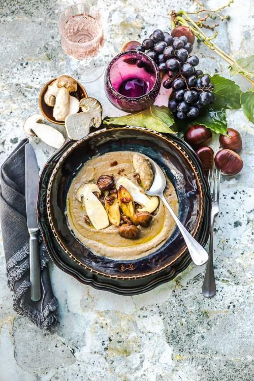 Soupe de champignons - Magali ANCENAY