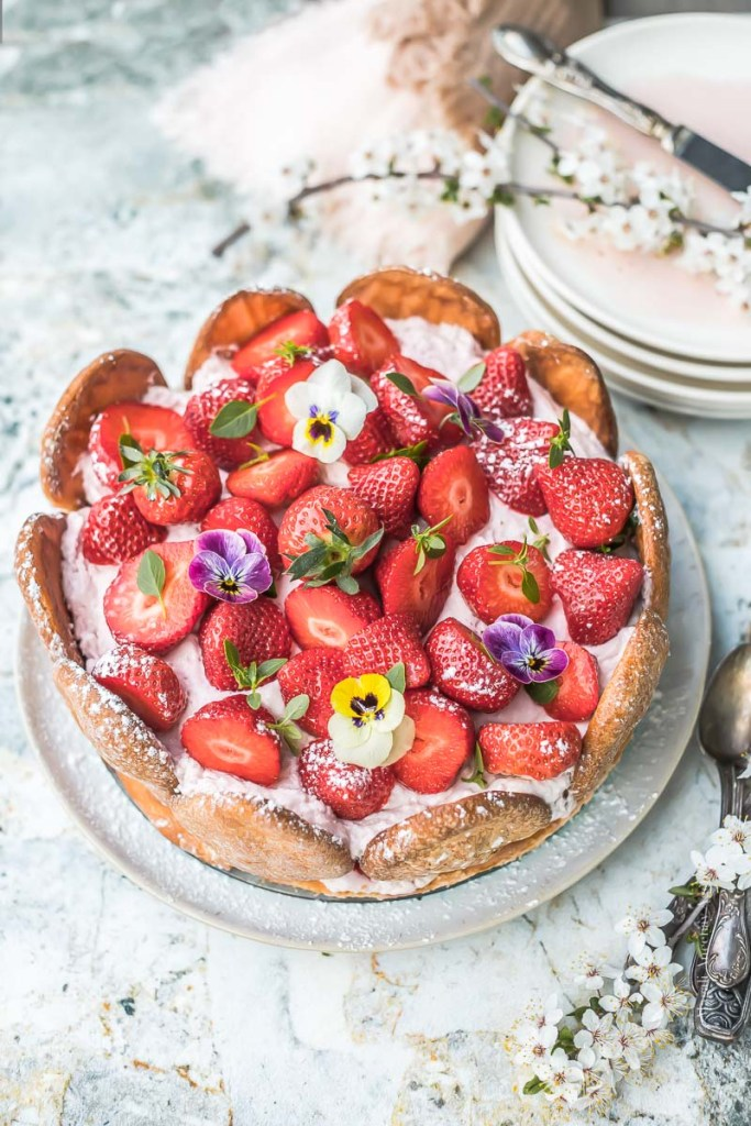Charlotte aux fraises - Magali Ancenay