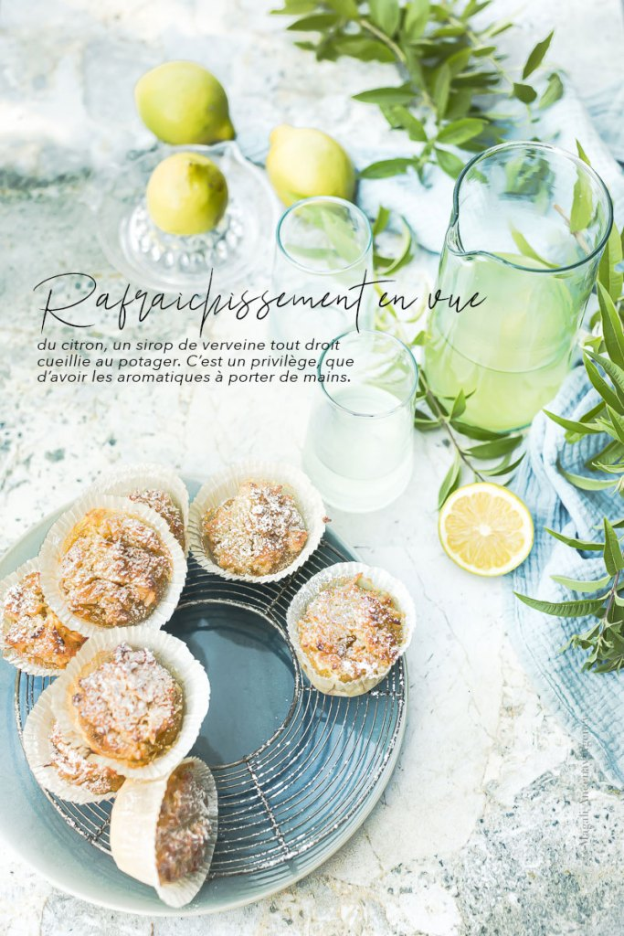 Citronnade à la verveine - Magali Ancenay