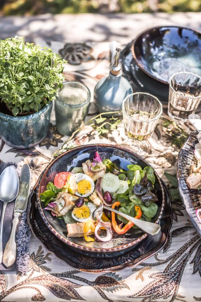 Salade Niçoise - Magali ANCENAY