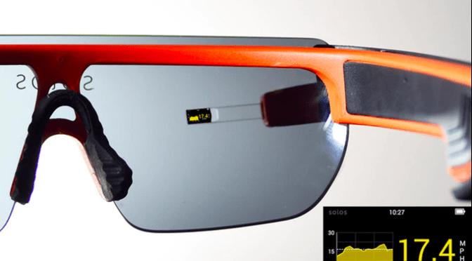 Conheça Solos, os óculos inteligentes para ciclistas