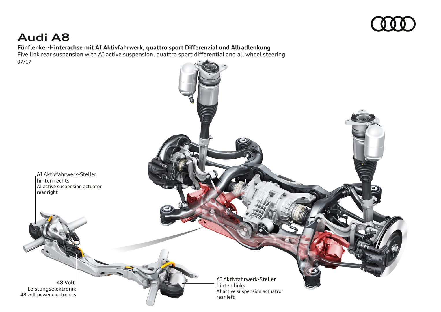 World Premiere Audi A8 It S Under The Skin That