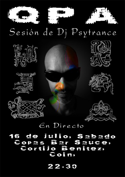 QPA Dj session at El-Sauce 16 Jul, 2011. Coin, Spain