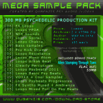 Mega Sample Pack2011. Psychedelic trance production kit