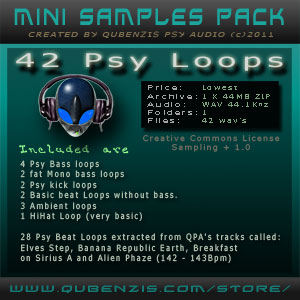MINI SAMPLES PACK - 42 PSY LOOPS