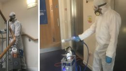 Ecoclean makes sanitisation and specialist deep clean investment