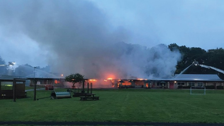 Why do schools lack fire protection such as sprinklers?