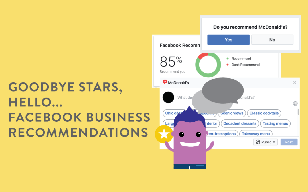 Goodbye Stars, Hello Facebook Business Recommendations